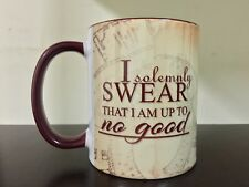 I Solemnly Swear Marauders Map Mug Coffee Tea Cup Harry Potter Mischief Managed
