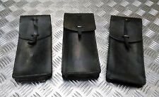 Genuine Vintage Military Issue Large Leather Ammo / Utility Pouch / Medic Pouch