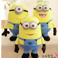 New Despicable Me Plush Minion Soft Toy Stuffed Cuddly Teddy Doll 3D 7''  3pc