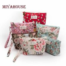 Women Cosmetic Bags Zipper Portable Travel Make Up Pouch