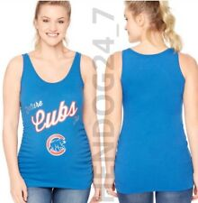 MLB FUTURE CHICAGO CUBS MOTHERHOOD MATERNITY RUCHING TANK TEE'S