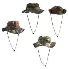Men Women Camo Bucket Boonie Hat Cap Outdoor Hunting Hiking Fishing Camping
