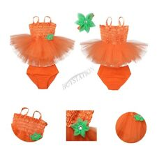 Halloween Baby Girls Kids Romper Jumpsuit Bodysuit Tutu Dress Clothes Outfit