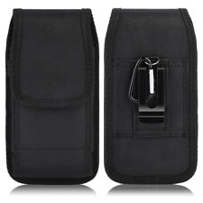Luxmo Vertical Holster Belt Clip Pouch Case For Samsung iPhone Large Cell Phone