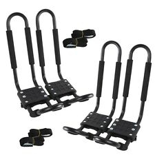 2X Kayak Roof Rack Carrier Accessories Canoe Boat Surf Ski Top Mount For Car SUV