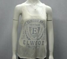 Hot Sale! NWT Elwood Ladies Causal Golden AGE Tank Top Singlet Summer SZ XS-L