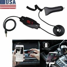 Universal Car FM Transmitter Radio Kit MP3 Player With Microphone for iphone