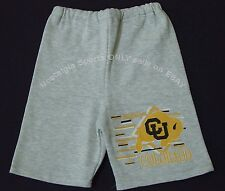Vintage 90's Univ COLORADO Buffaloes DODGER Sweat SHORTS NWT New Old Stock S, M