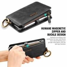 Magnetic Flip Wallet Case Leather Bag Detachable Case Cover For Samsung Galaxy