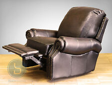 Barcalounger Premier II Proximity Wall Hugger Leather Recliner Wallaway Chair