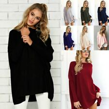 Women's Long Batwing Sleeve Pullover Loose Oversized Casual Top Blouse T-Shirt