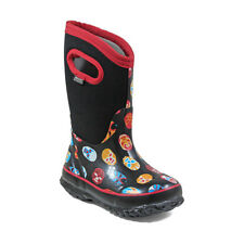 Bogs Kid's Classic Mask Kids' Insulated Boots Black Multi 72156-009