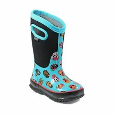 Bogs Kid's Classic Mask Kids' Insulated Boots Light Blue Multi 72156-465