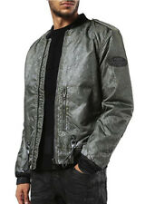 $400 Authentic Rare DIESEL Men's Green Puff Bomber Jacket