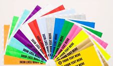"1"" & 3/4"" Tyvek Paper Wristbands Plain, Custom Print, Personalised, Paper, Event"