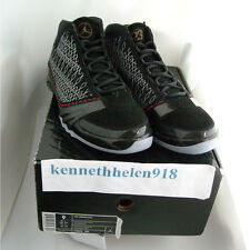 NEW 2008 NIKE AIR JORDAN XX3 23 BLACK VARSITY RED STEALTH MENS SIZE 9