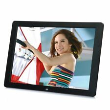 """15"""" inch HD LCD Digital Photo Frame Picture MP4 Movie Player Remote Control RE"""