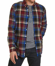 NEW JAG MENS Hartley Plaid Slim Fit Shirt Casual Shirts