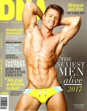 DNA Magazine #212 gay men Sexiest Men Alive 2017 STEVEN DEHLER