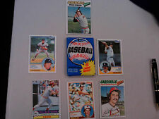 1980 Topps Baseball Unopen Wax Pack Henderson Rookie year  PLUS 6 FREE CARDS