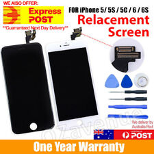 Cracked Replace For iPhone 5 / 6 Plus Screen Touch Front LCD Display Assembly