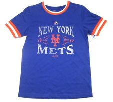 MLB Majestic New York Mets Youth Team Pride II T-Shirt Tee Boys Short Sleeve $35