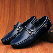 Leisure Loafer  Mens Oxfords Non-Slip Genuine  Leather Moccasins Driving Shoes L