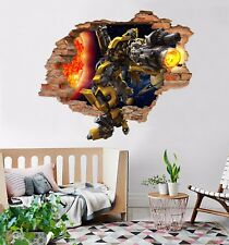 3D Transformers 80 Wall Murals Stickers Decal breakthrough AJ WALLPAPER AU Kyra