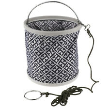 Foldable Folding Collapsible Bucket Camping Travel Fishing Water Container
