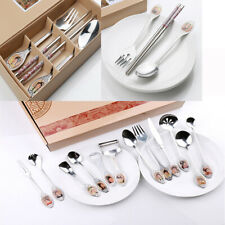 Stainless Steel Tableware Set A Dream in Red Mansions Spoon Fork Chopsticks