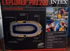 Intex Explorer Pro 200 Inflatable Two-Person Boat