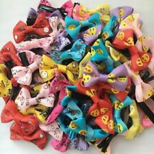 100pcs Cute Kids Girls Baby Bow Hairpin Hair Clips Bowknot Barrette Accessories