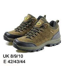 MENS GREEN BOOTS SHOES HIKING WALKING LACE UP CHUKKA WATERPROOF BOOTS SHOES