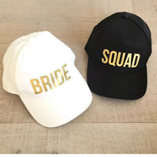 Squad Party Baseball Hat Bride Bachelorette Wedding Trucker Set New Snapback Cap