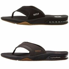 New Reef Men Sandals Flip Flops Fanning Sandals Slides Blakck | Brown