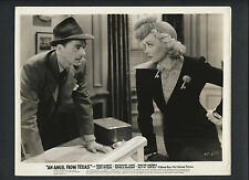 RONALD REAGAN + JANE WYMAN FACE OFF - 1940 - FUTURE PRESIDENT  AND HIS EX-WIFE