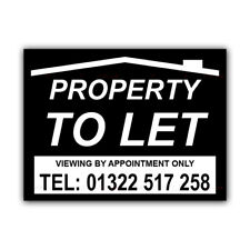 Property To Let Correx Sign Boards Estate Agent House Signs X 2 (CORCP00044)