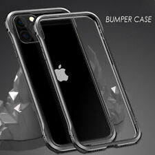 Luphie Slim Thin Double Color CNC Aluminum Armor Bumper Case For iPhone Samsung
