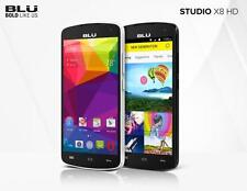 "BLU Studio X8 HD S530 5"" Cell Phone 4GB 5MP GSM Unlocked Dual SIM Android NEW"