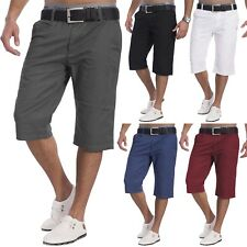 Men's Quality Denim Chino Shorts Genteel 100% Cotton Shorts Slim