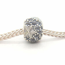 NEW Genuine Authentic S925 Sterling Silver Oceanic Starfish Frosty Mint CZ Charm