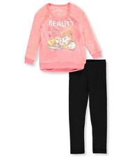 Disney Princess Little Girls' 2-Piece Outfit Featuring Belle (Sizes 4 - 6X)