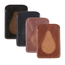 New Faux Leather Business ID Credit Card Badge Holder Pouch Case Thin Wallet