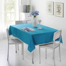 SunnyRain 1-Piece Solid Color Tablecloth For Dining Table Cloth Rectangle Table
