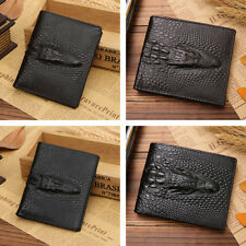 Mens New Quality PU Leather Wallet Credit Card Cash Holder Purse