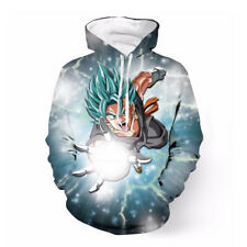 Women/Mens Dragon Ball Z Blue Vegetto 3D Print Casual Hoodie Sweatshirt Pullover
