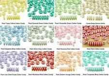 40pcs Matte Lentil Round Flat 2 Two Hole Spacer Czech Glass Beads 6mm