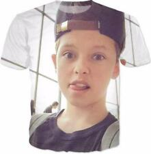 Jacob Sartorius Short Sleeve Mens Casual Funny 3D Print Graphic Tee T-Shirt AE7
