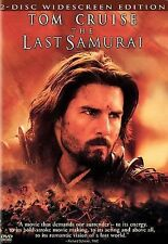 The Last Samurai (DVD, 2004, 2-Disc Set, Widescreen Edition starring TOM CRUISE
