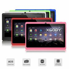 """XGODY 7"""" Inch 8GB Quad Core Android 4.4 Tablet PC Dual Camera Bluetooth UK Stock"""
